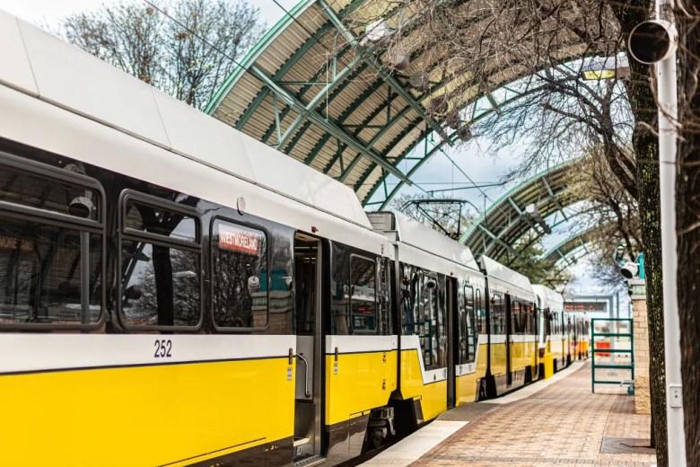 DART station Plano