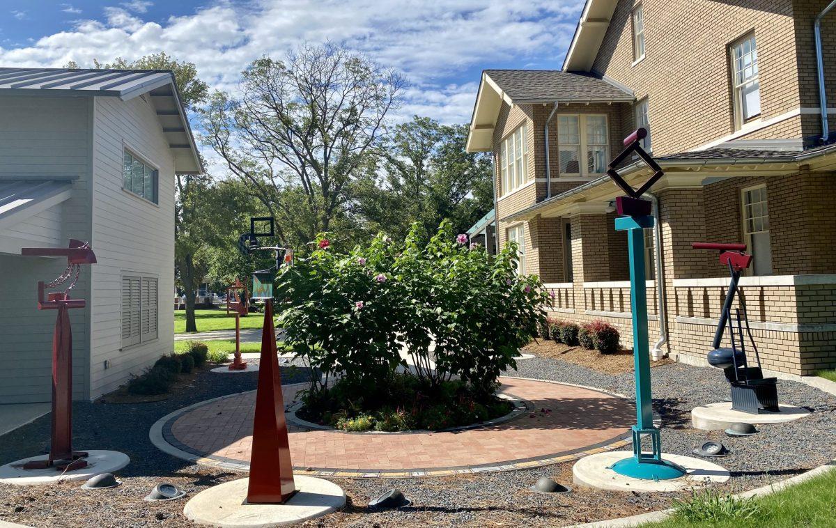 ArtCentre of Plano Sculpture Garden by Jerry Dodd