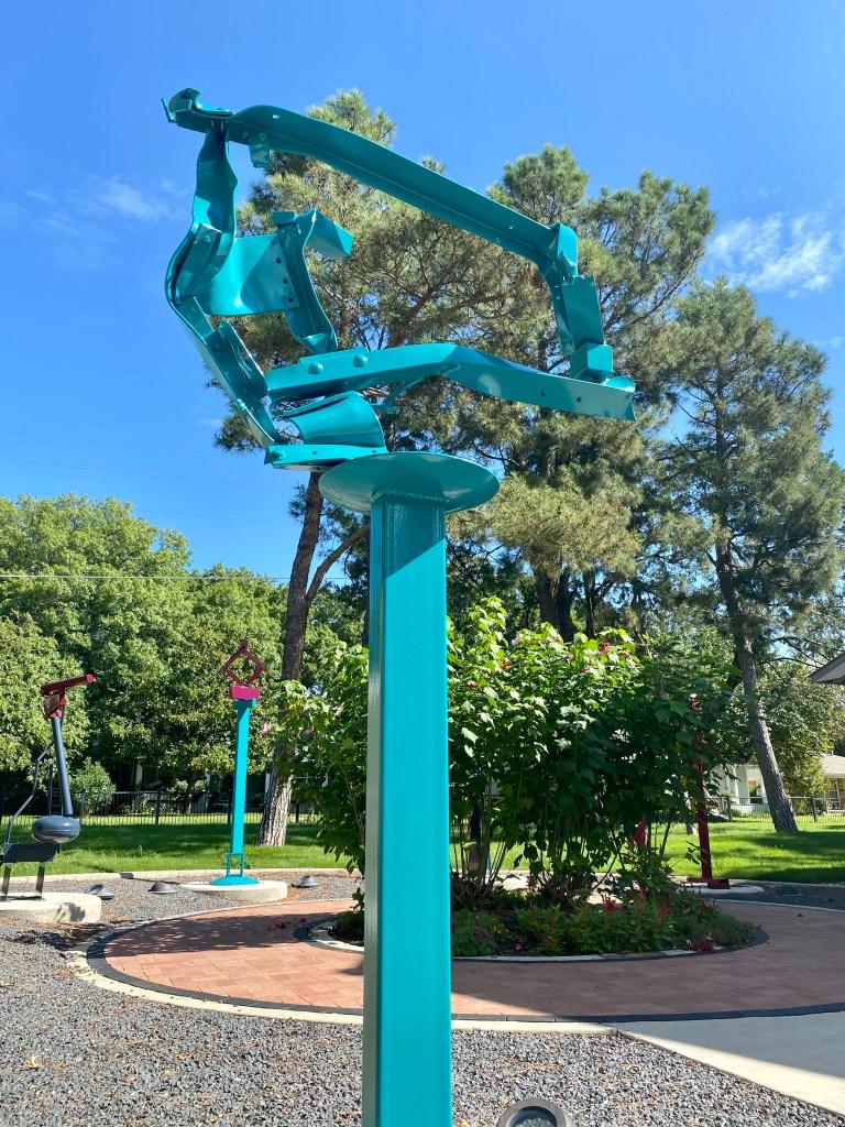 ArtCentre of Plano Sculpture Garden Jerry Dodd
