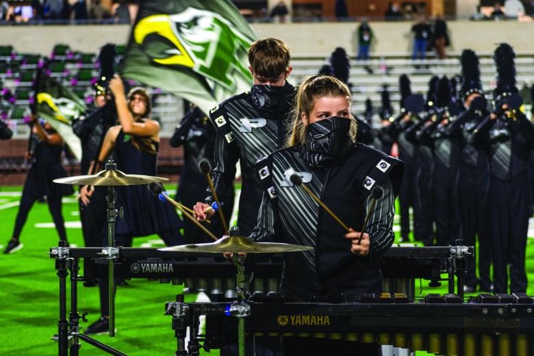 prosper band plays halftime