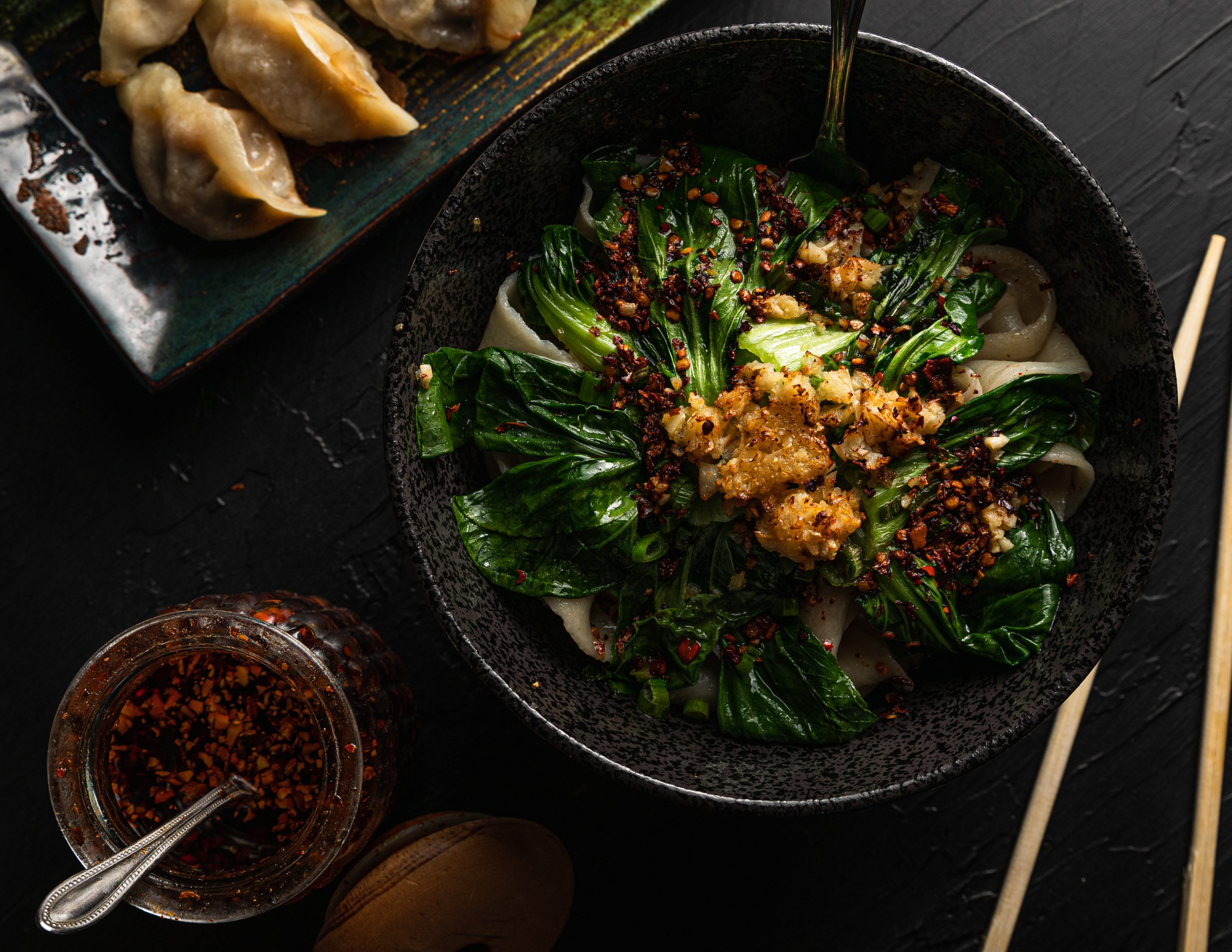 The Unassuming Secrets of Uncle Zhou's Fried Dumplings and NCY Noodles in Plano
