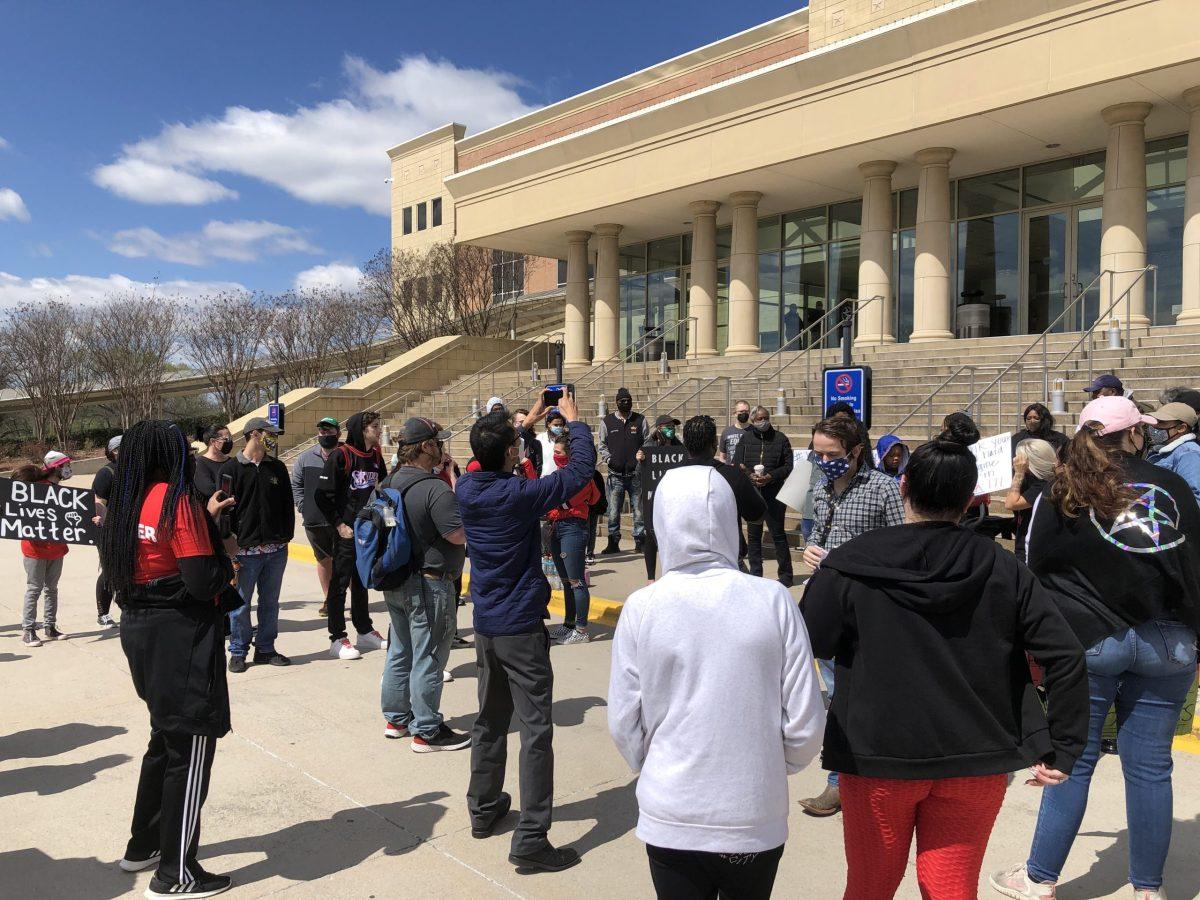 Marvin Scott III protest