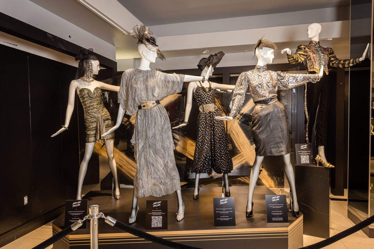 Galleria Dallas fashion exhibit