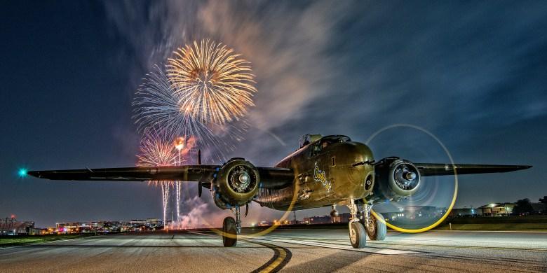 b25 fireworks high res gary daniels