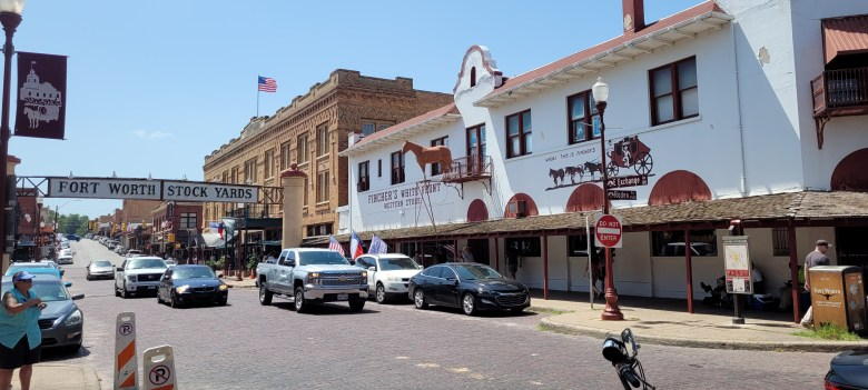 mule alley is where you've got to start your shopping adventures at the fort worth stockyards.