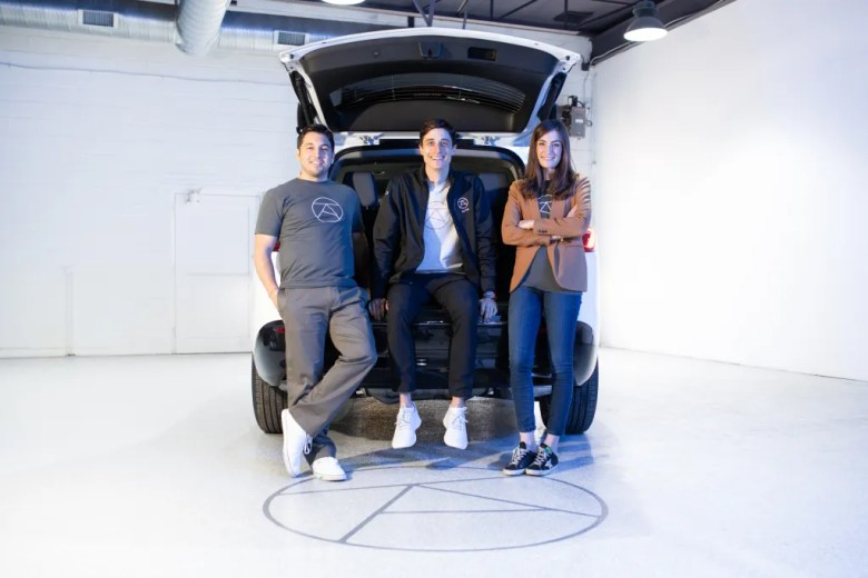 from left: jonathan campos, chief technology officer for alto, with founders will coleman and alex halbardier | image courtesy of alto