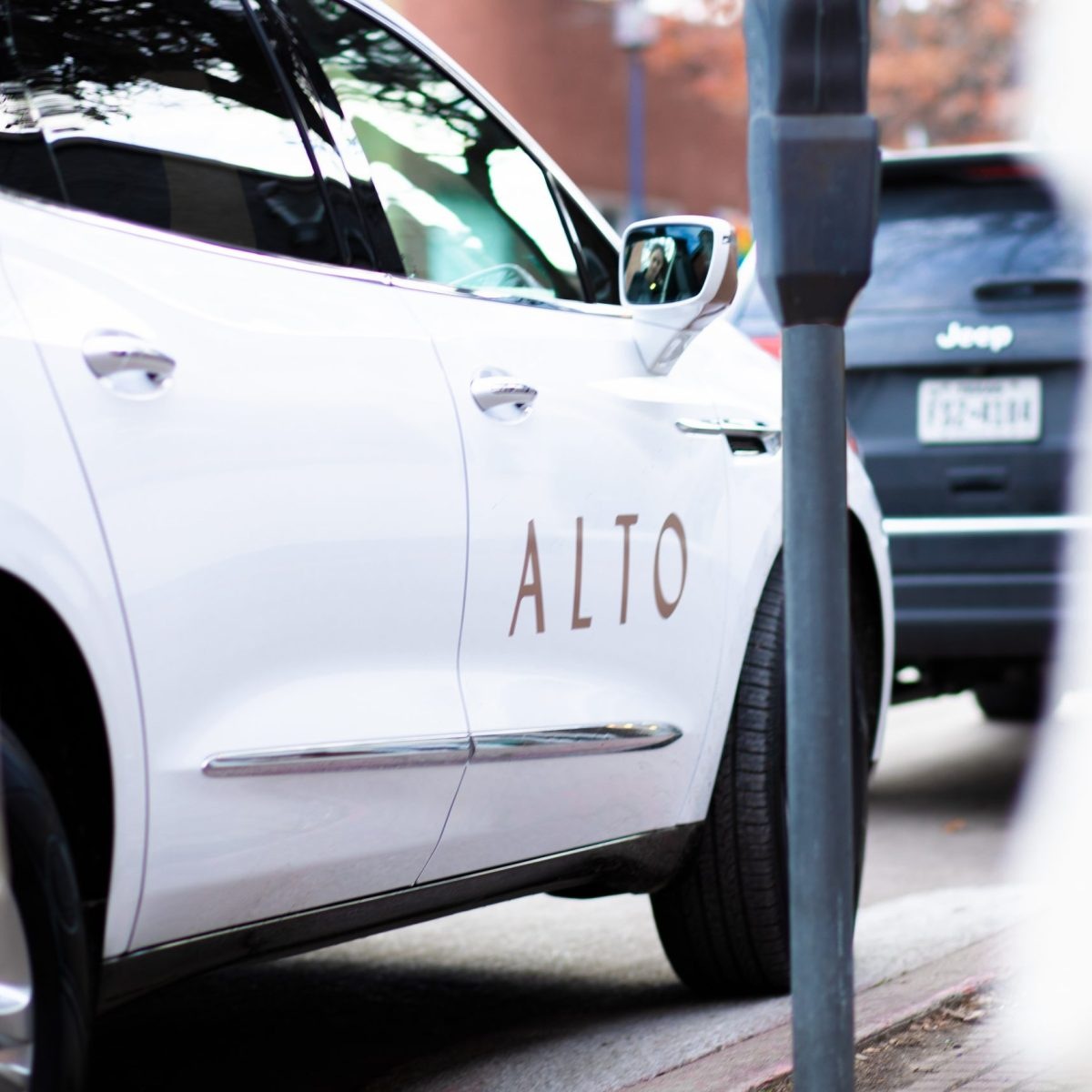 """first introduced as an """"upscale"""" alternative to lyft and uber, alto plans to exclusively utilize electric vehicles by 2023   image courtesy of alto"""