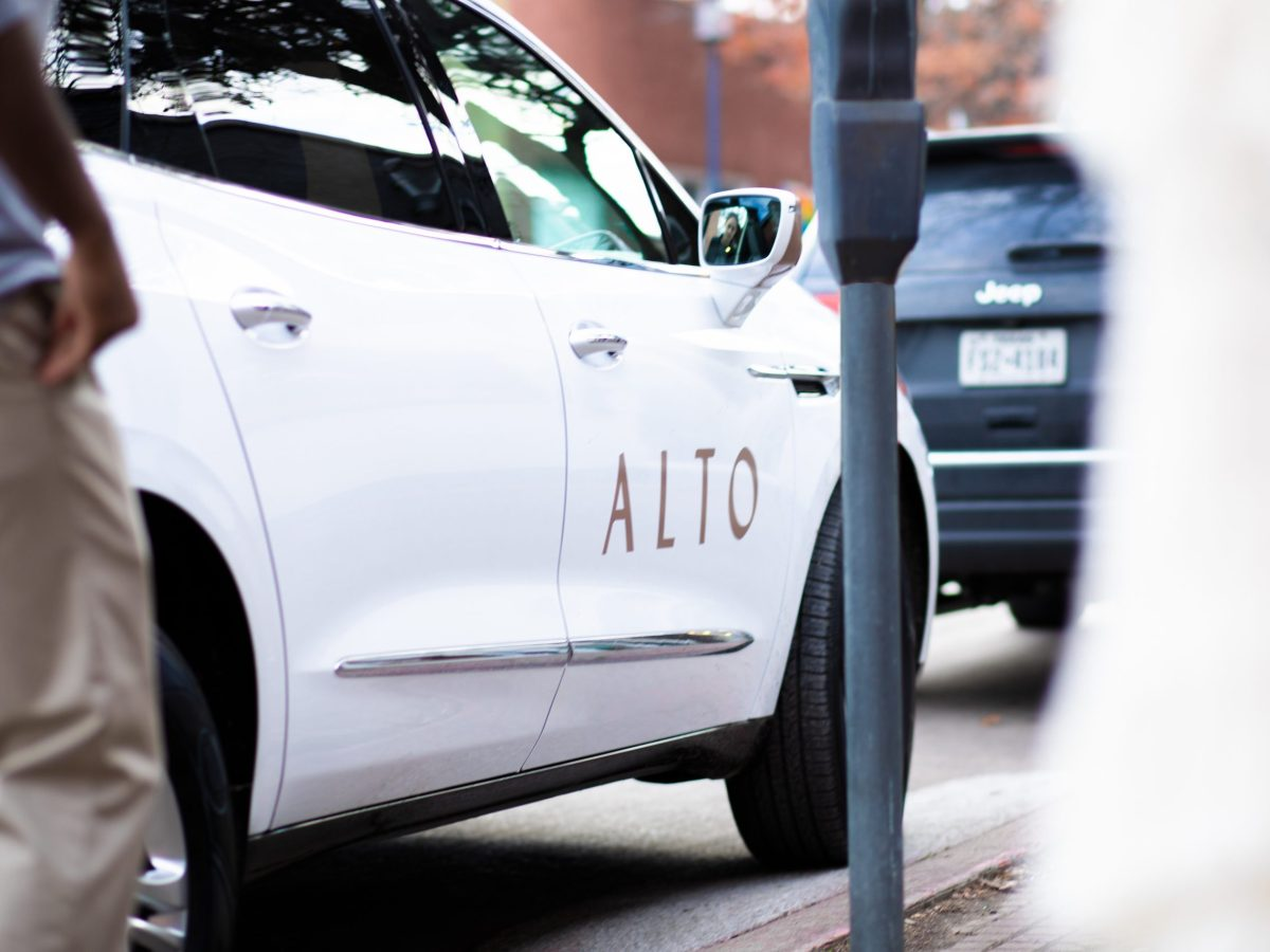 """first introduced as an """"upscale"""" alternative to lyft and uber, alto plans to exclusively utilize electric vehicles by 2023 