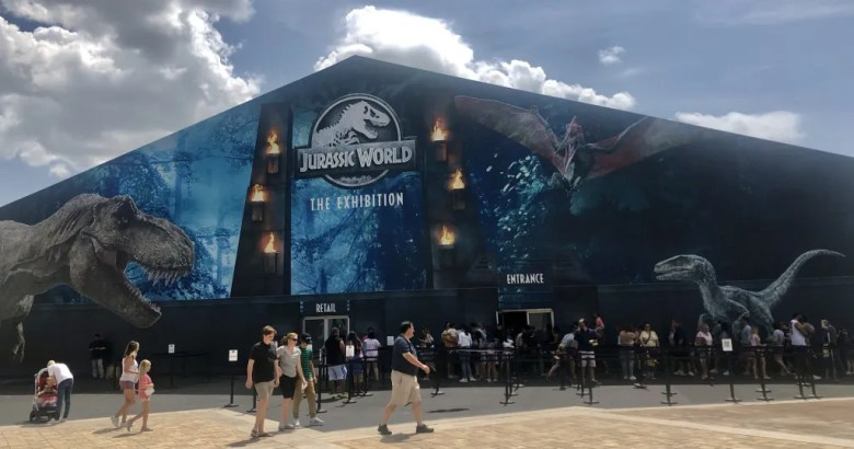 jurassic world: the exhibition is on par with any disney world attraction... and it's right in grandscape at the colony! a great family attraction to do this weekend.