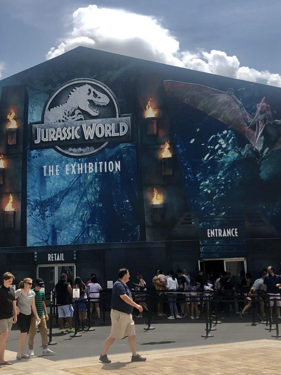 jurassic world: the exhibition is on par with any disney world attraction... and it's right in grandscape at the colony!