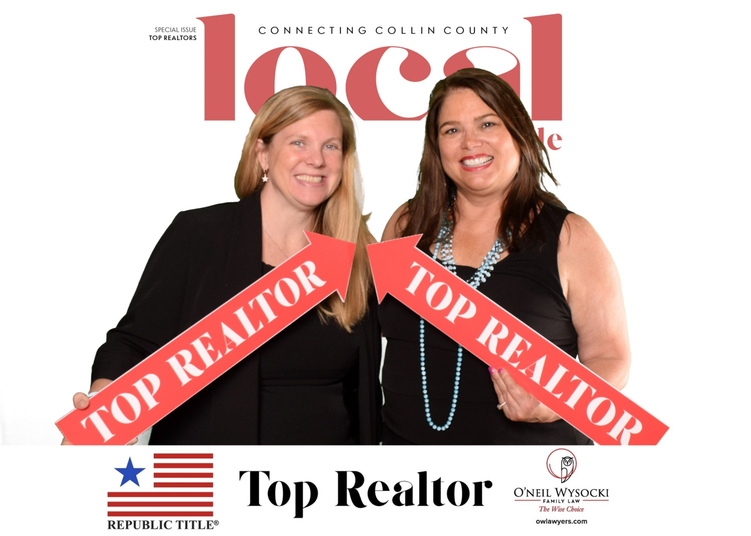 just a few of collin county's top realtors at local profile's 2021 top realtors party! | courtesy of picture this green screen & event photography, llc
