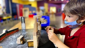 Hands-on fun at Sci-Tech Discovery Center, Frisco, Texas