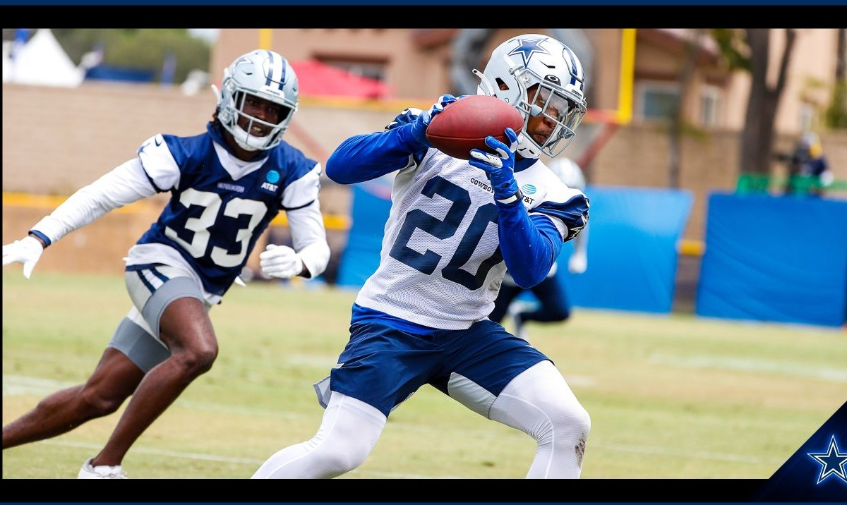 """the dallas cowboys are currently in oxnard, ca, training for their upcoming season. they will be featured on hbo's """"hard knocks"""" series. 