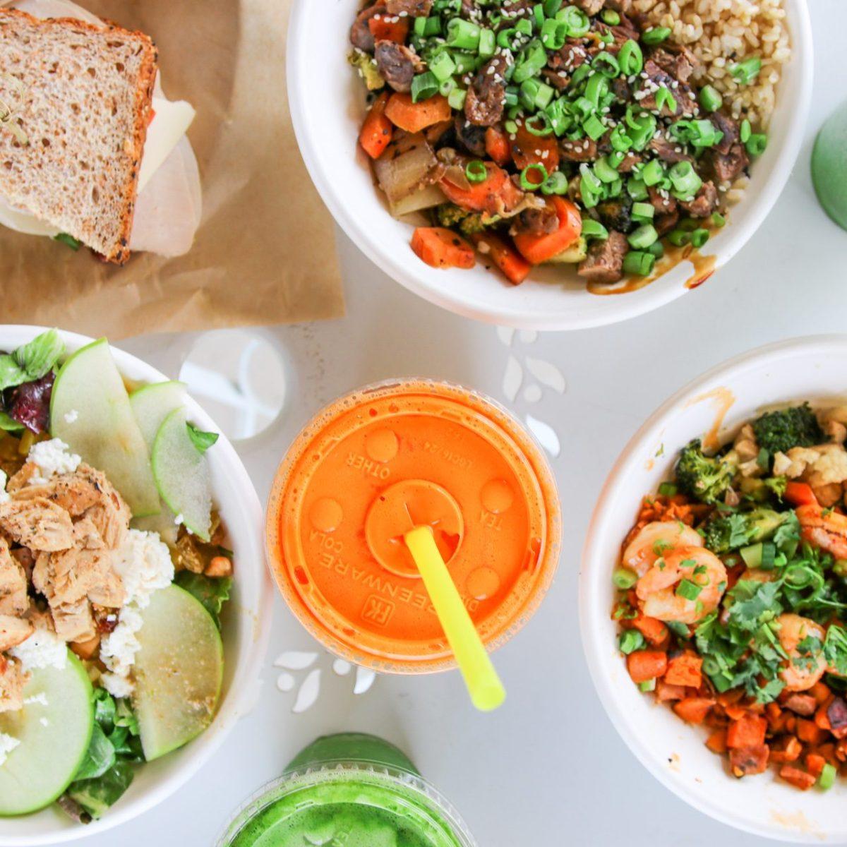 healthy food near