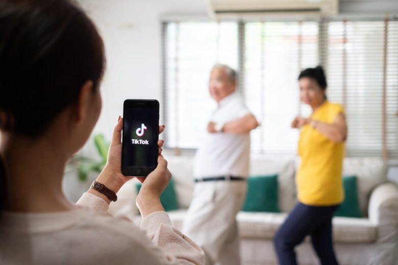 a familiar sight pre-, during, and post-pandemic. find popular users on users tiktok nearby! | shutterstock