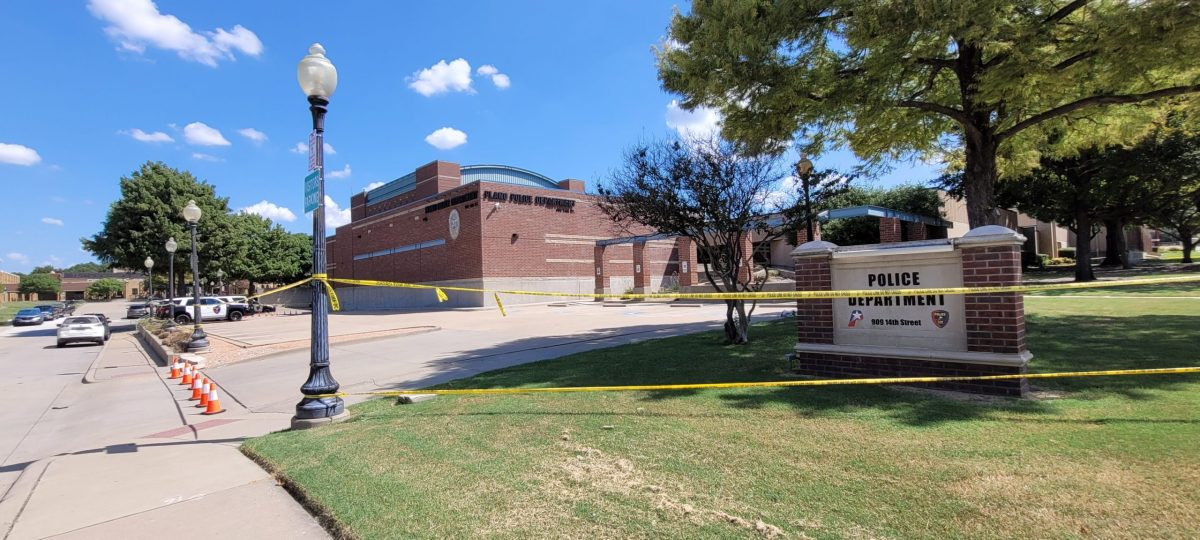 plano police department blocked off for investigation. it's set to reopen to the public on wednesday.   jordan jarrett