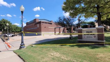 Plano Police Department blocked off for investigation. It's set to reopen to the public on Wednesday. | Jordan Jarrett
