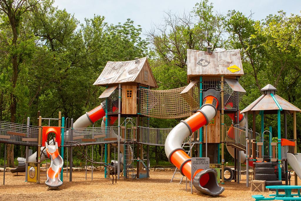 treehouse playground spirit park allen