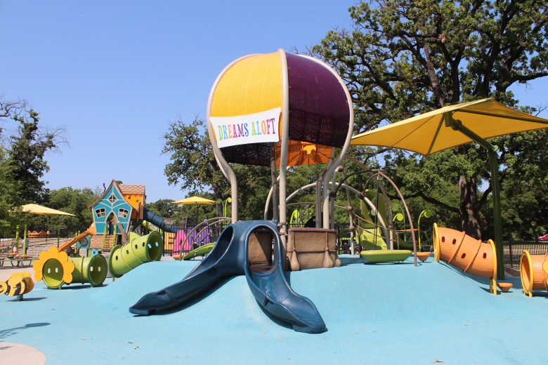 dream park, frank kent's dream park, trinity park, inclusive playground, all-abilities playground