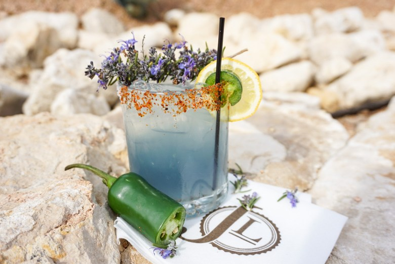 the bluebonnet cocktail at the jl bar ranch, resort & spa is as elusive and seasonal at the flower it's named after!