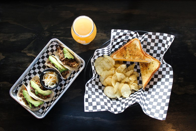 tacos and sandwiches at free play arcade in richardson | craft beer and retro games at free play arcade in richardson