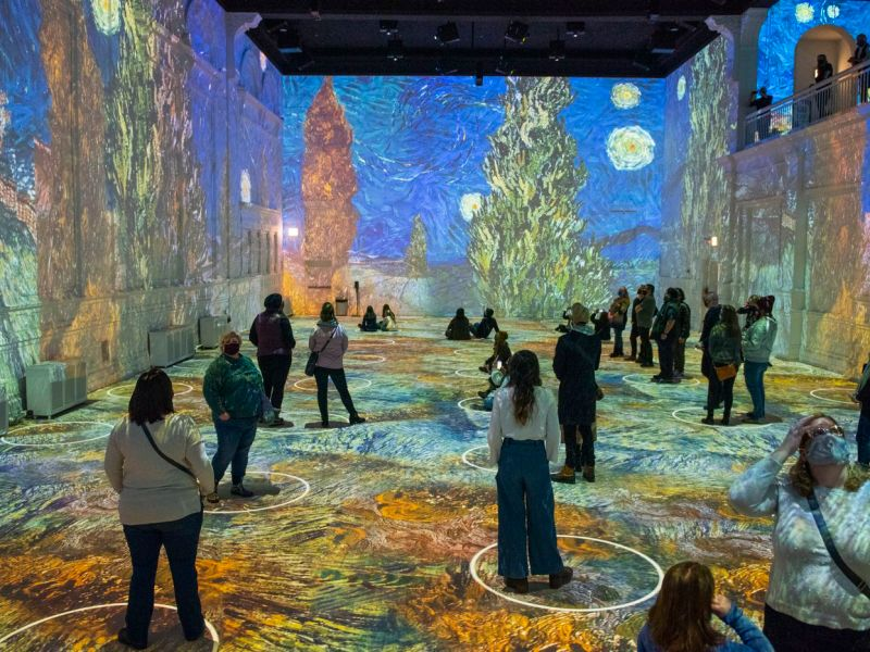 what better thing to do this weekend than immersive yourself in timeless art? do it at immersive van gogh in dallas!