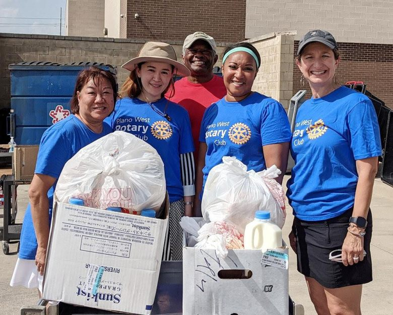 the plano west rotary club (pwrc) was proud to be a partner in the plano independent school district's summer curbside meals program.