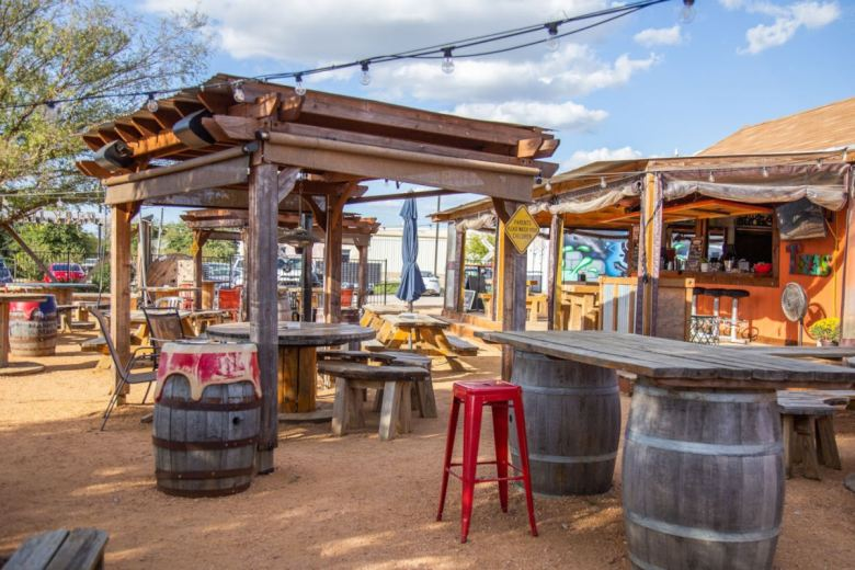 the rail yard is one of the best patios in frisco. check out more great patios!