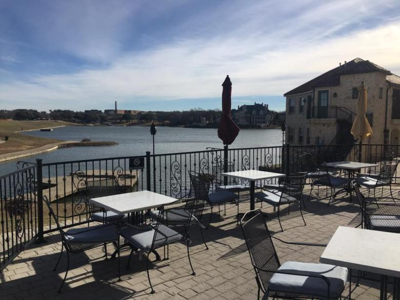 harry's at the harbor: one of the most romantic mckinney patios for sure!