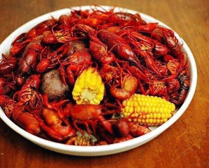 crawfish, crayfish, crawdads, mudbugs... whatever you call 'em, we love 'em.   courtesy of fishmonger's seafood restaurant page on facebook.