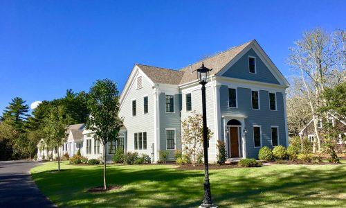 Under Contract, Last One… New 55+ Condominiums in Cotuit