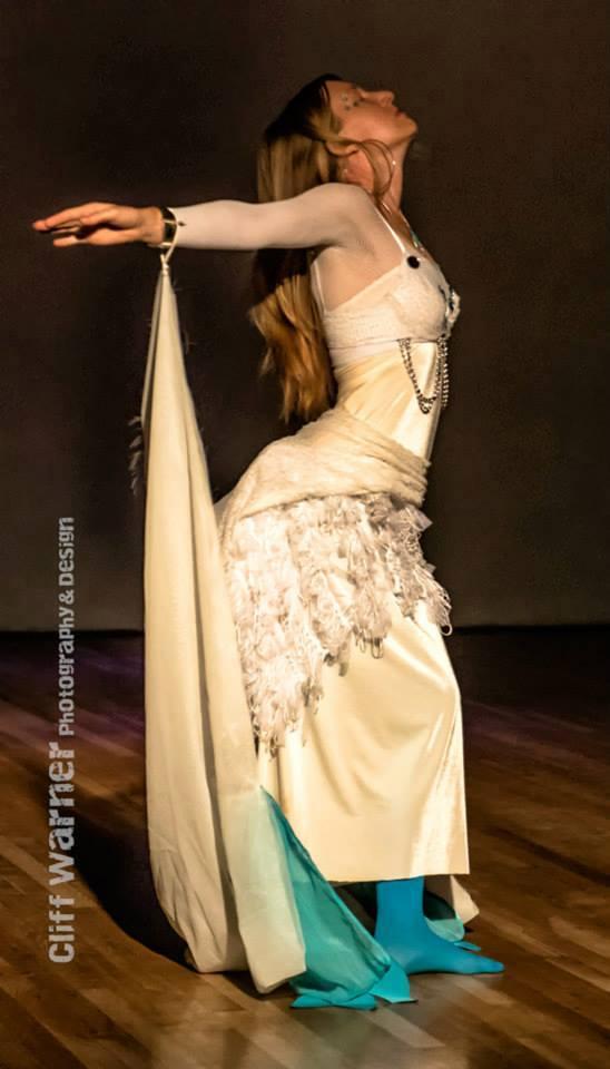 Alaya performer posing
