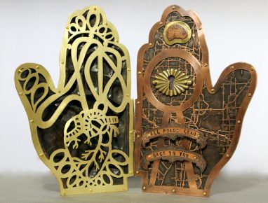 Serene Morgan Hand Sculpture Inside
