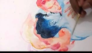 "Video : Watercolor ""The Worst Enemy"""
