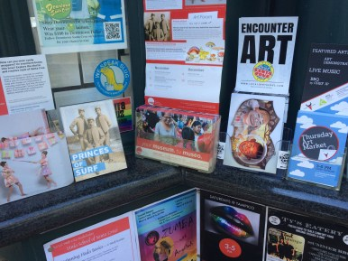 Art Cards Santa Cruz Info Kiosk