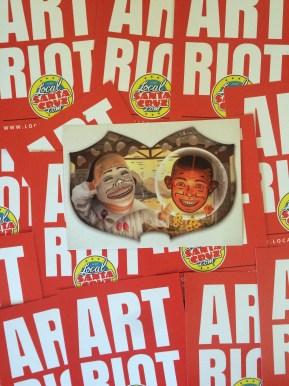 Laff Riot Art Card