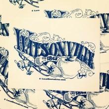 Watsonville Sticker