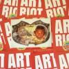 Mott Jordan Laff Riot Art Card