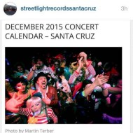 Streetlight Records Calendar