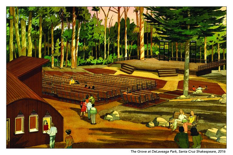 Santa Cruz Shakespeare DeLaveaga Grove