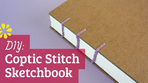 Video: How To Bind Your Own Sketchbook