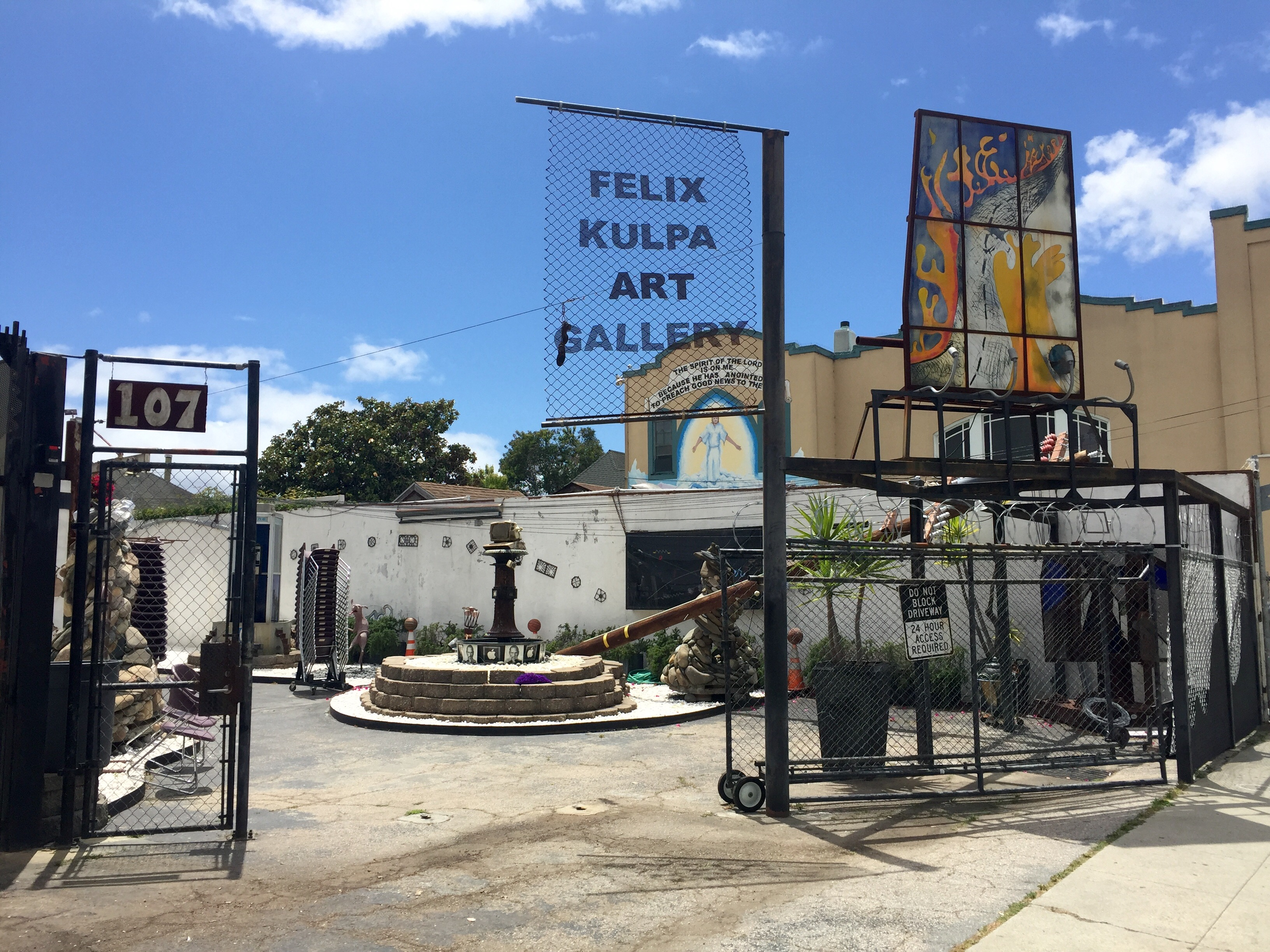 The Felix Kulpa Gallery and Sculpture Garden
