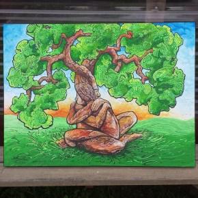 Oak Embrace