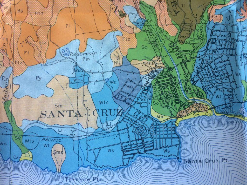 Pacific Coast Route Through Santa Cruz California ROAD TRIP USA - Los angeles map wallpaper