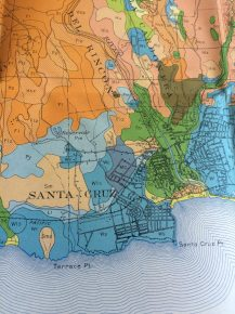 Santa Cruz Point map