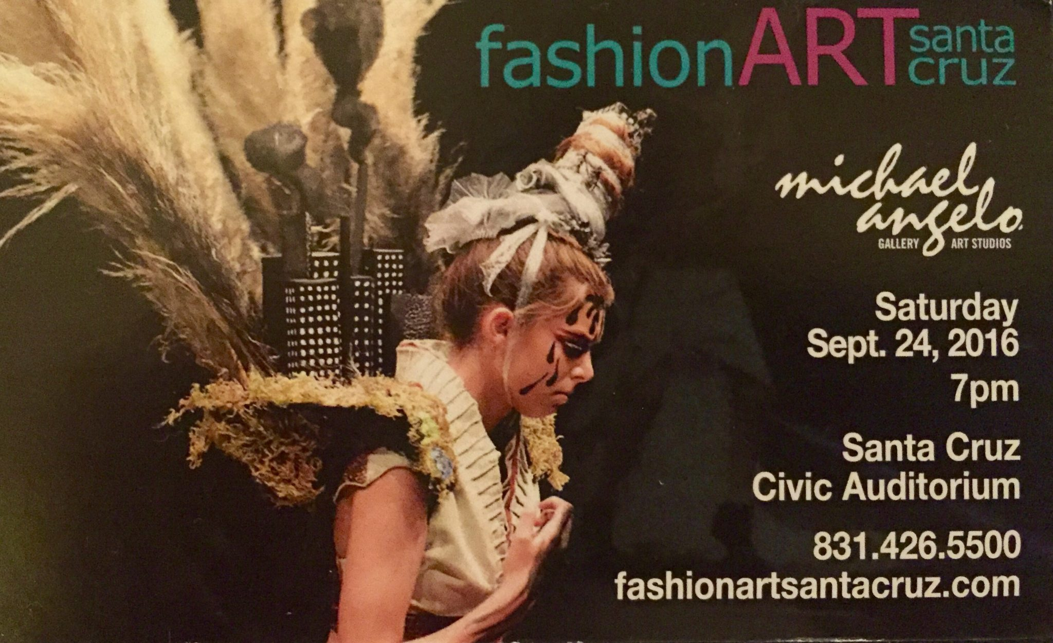 Mark your calendars for the highly anticipated, annual FashionArt Santa Cruz event.