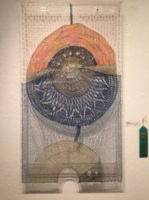 Contemporary Fiber Exhibit at the Santa Cruz Art League
