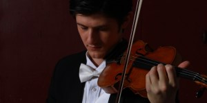 Nigel Armstrong, an internationally renowned soloist and the Symphony's new concertmaster.