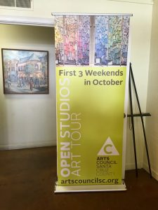 Open Studios is organized through the Arts Council of Santa Cruz County.