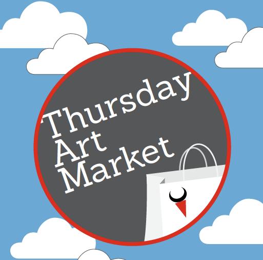 Thursday Art Market at the Tannery Arts Center.